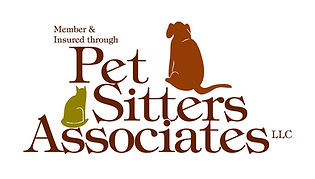 Pet sitters associates member and insured through