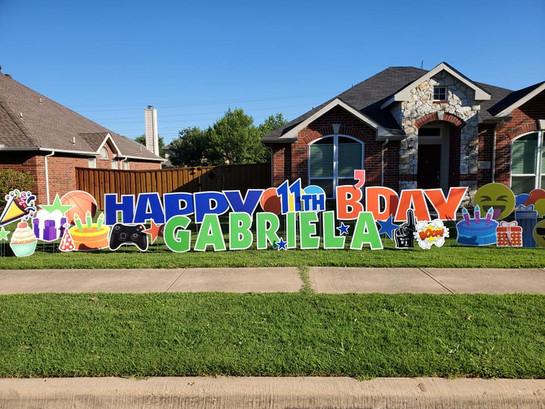 Happy Birthday Gabriela!