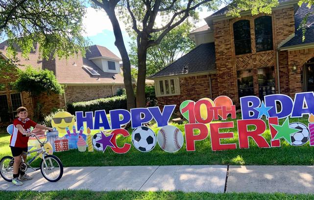 Happy Birthday Cooper!