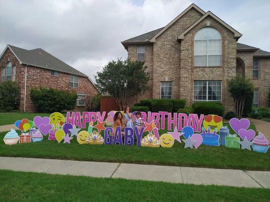 Happy Birthday Gaby!
