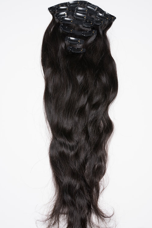 Indian Wavy Clip-Ins
