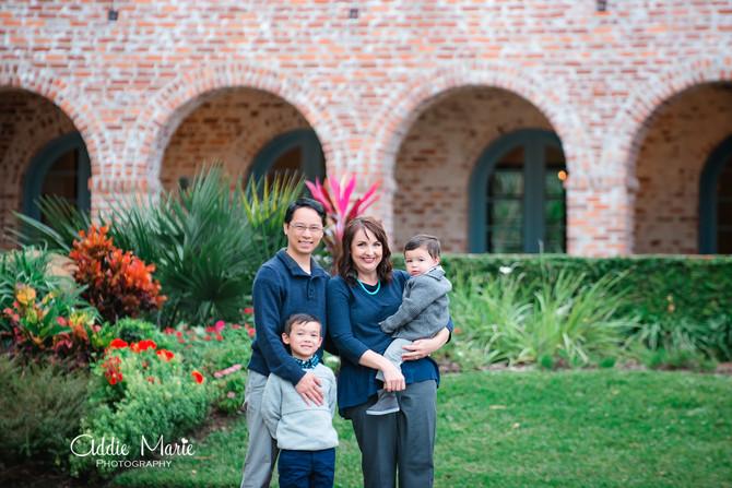 Casa Feliz - Lam Family - Orlando Family Photographer