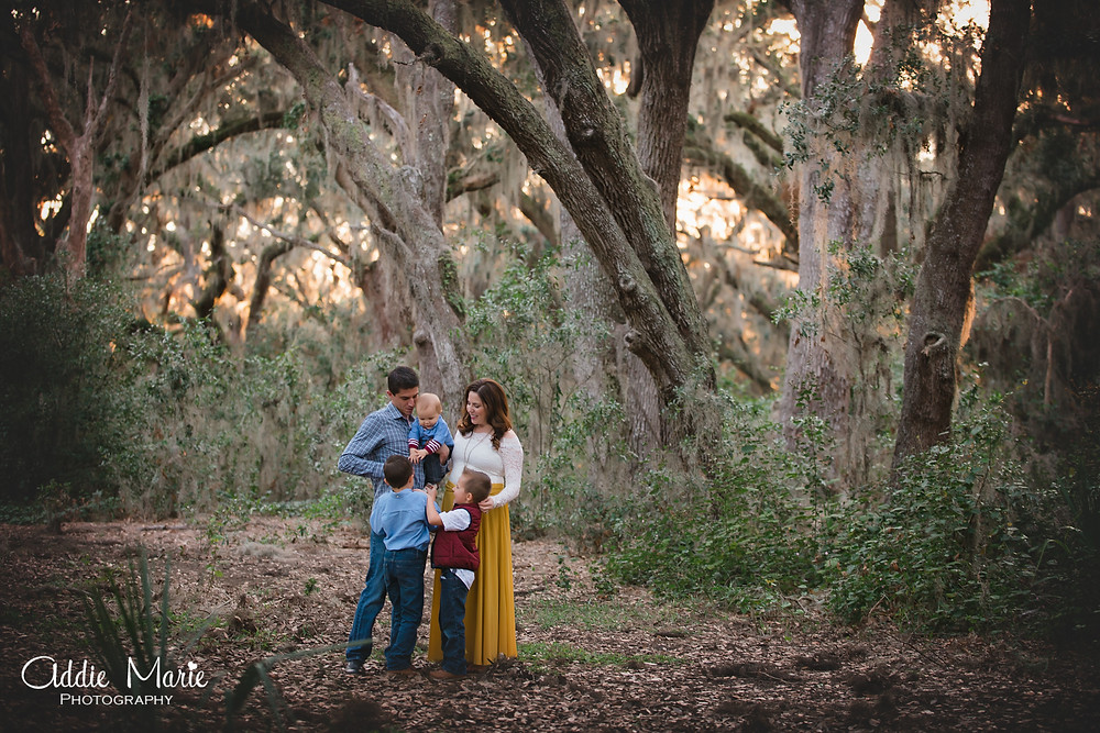 Christmas Mini Session Orlando Florida Photos - Addie Marie Photography