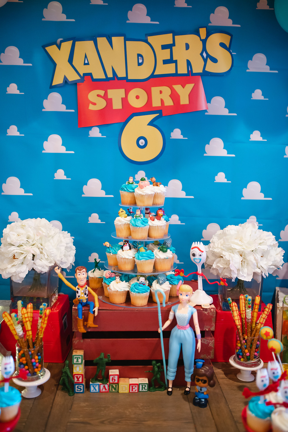 Toy Story Party Desert Table