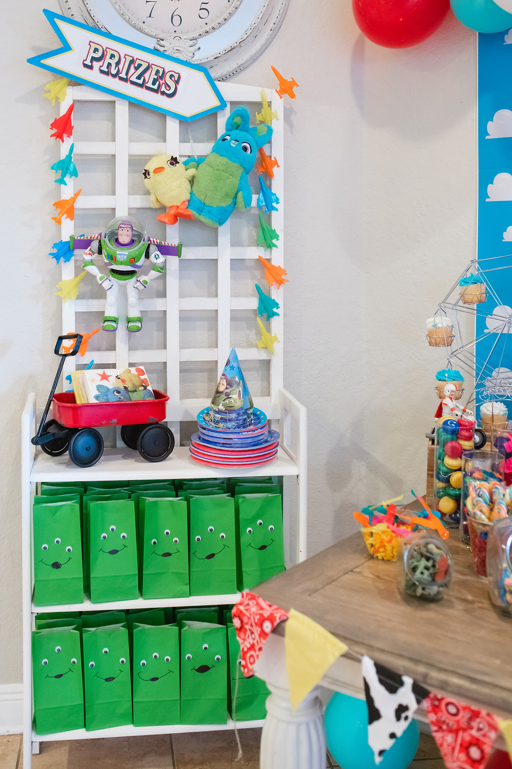 Toy Story 4 Carnival Party Birthday Prizes