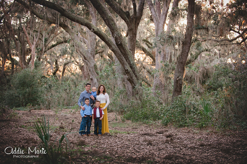 Holiday Mini Session Orlando Florida Photos