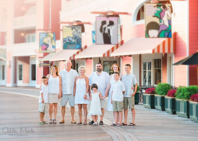 Disney Family Photo Session - Orlando Family Photographer