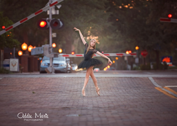 Sweet 16 and Ballet on the Streets Photo Shoot - Winter Park Photographer