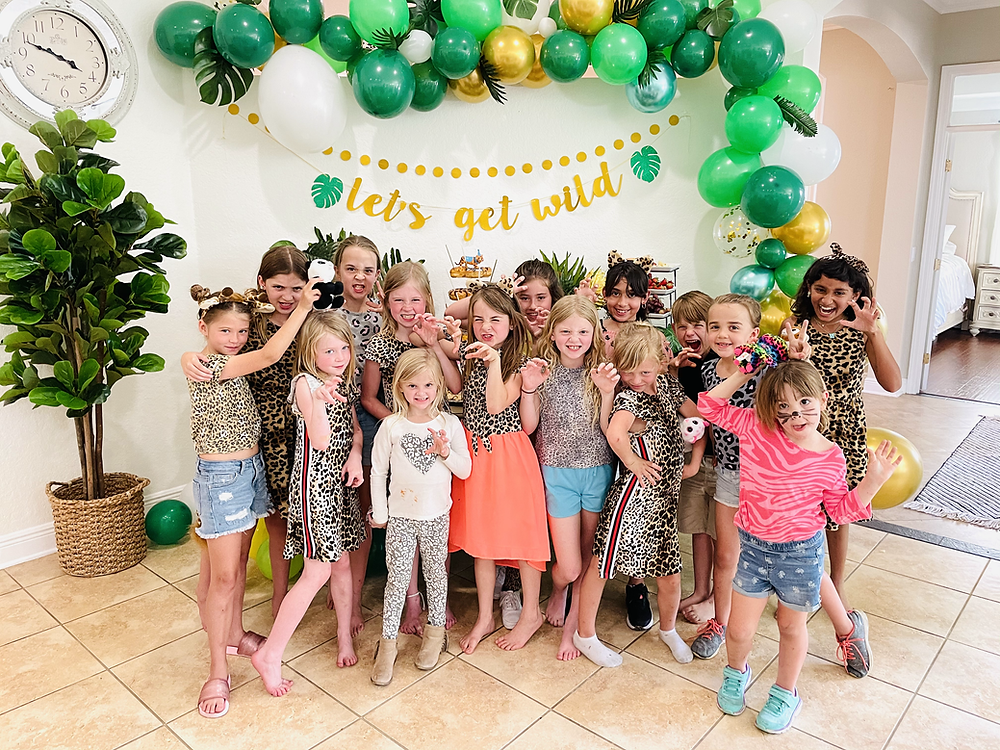 Big Cat Party, Wild, Animal Party, Safari, Jungle