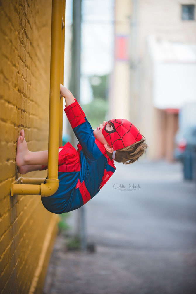 Super Hero Shoot - Orlando Child Photographer