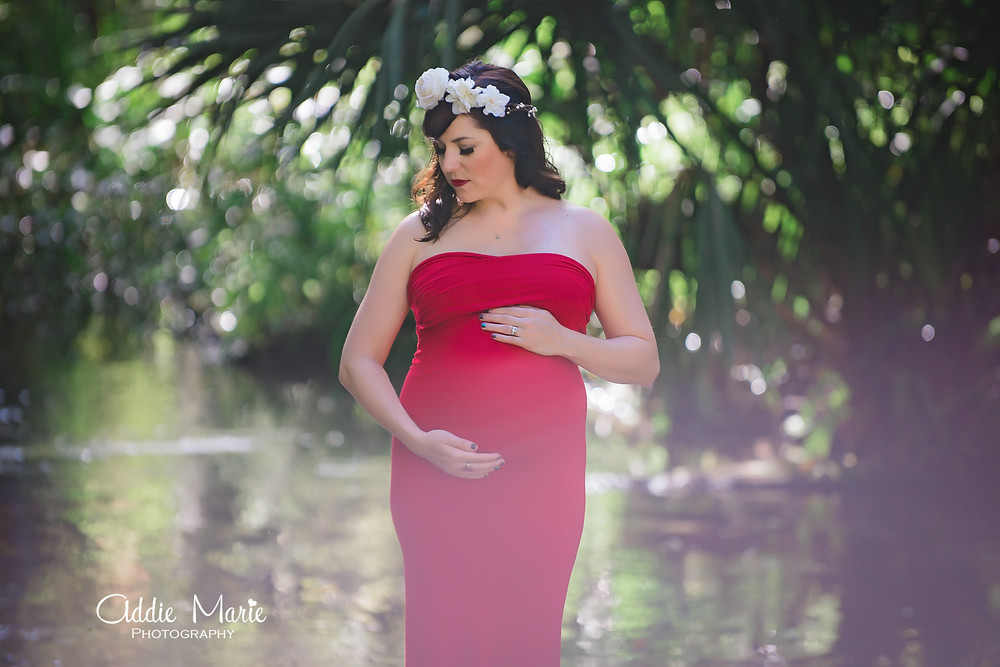 ADDIE MARIE PHOTOGRAPHY - Orlando - Springs Maternity Session