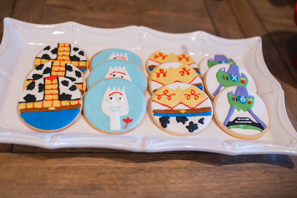 Toy Story 4 Cookies Forky, Woody, Buzz