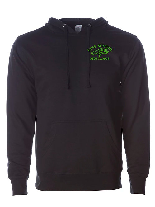 Line School Hooded Sweatshirt