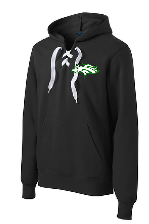 MAYFC lace-up hoodie