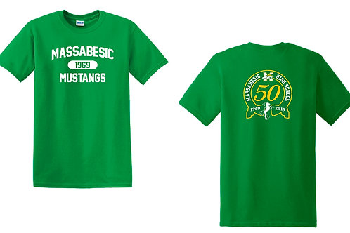 Green Cotton Tee *CLEARANCE*