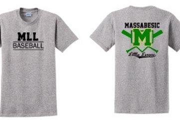 MLL Short Sleeve Baseball Tee