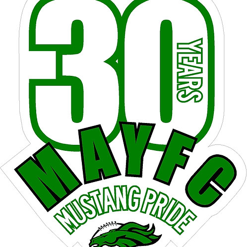 MAYFC decal 3.5""