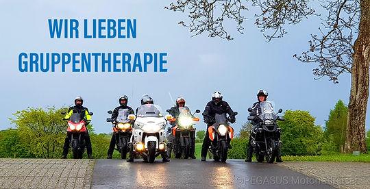Wir lieben Gruppentherapie ©Pegasus Motorradreisen