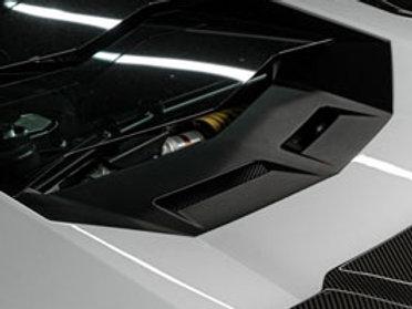 Lamborghini Aventador Upper Air Duct Panel in Carbon Fiber by 1016 Industries
