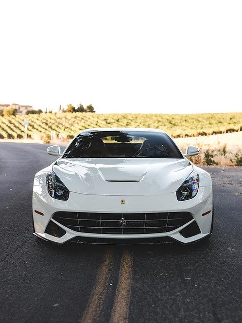 Ferrari F12 Front Aero Lip in Carbon Fiber by 1016 Industries
