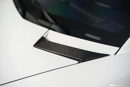 Lamborghini Aventador Hood Vents in Carbon Fiber by 1016 Industries