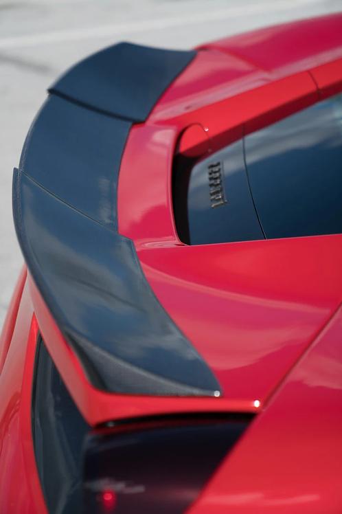 Ferrari 488 Rear Spoiler in Carbon Fiber by 1016 Industries