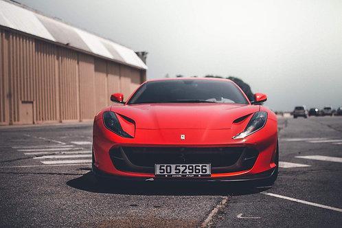 Ferrari 812 Front Aero Lip in Carbon Fiber by 1016 Industries
