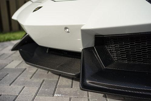 Lamborghini Aventador Front Lip in Carbon Fiber by 1016 Industries