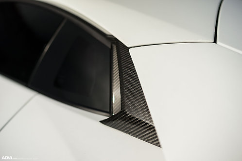 Lamborghini Aventador Intake Inlet Ducts in Carbon Fiber by 1016 Industries