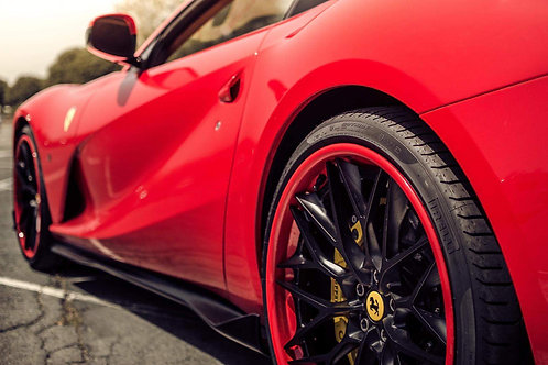 Ferrari 812 Side Skirts in Carbon Fiber by 1016 Industries