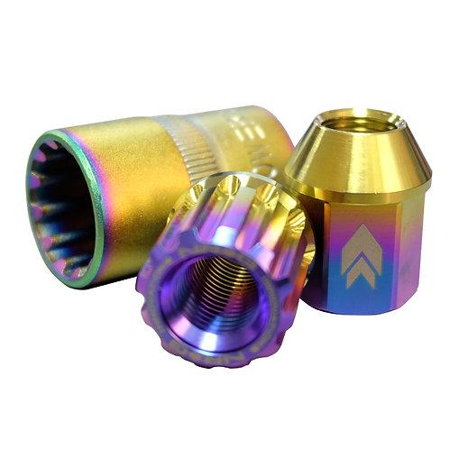 Lug Nuts in Titanium by NRG