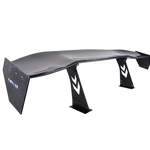 """Universal 69"""" Racing Wing in Carbon Fiber by NRG"""