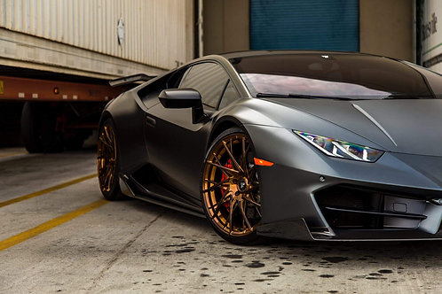Lamborghini Huracan LP580 Mirror Caps in Carbon Fiber by 1016 Industries