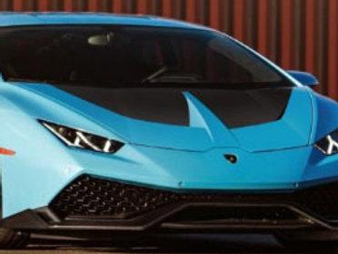 Lamborghini Huracan LP580 Race Hood in Carbon Fiber by 1016 Industries