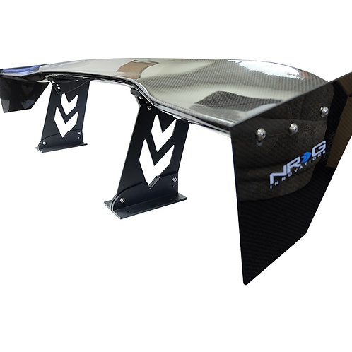 """Universal 59"""" Racing Wing in Carbon Fiber by NRG"""
