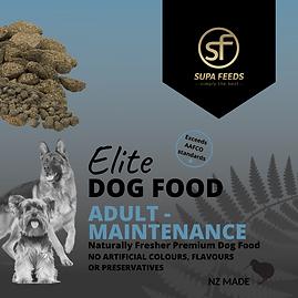 maintenance dog food