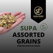 Supa Assorted Grains, assorted grins, ge free grains, n grains