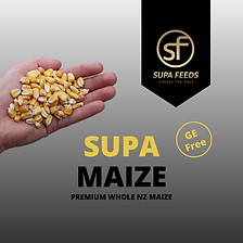 Whole Maize, Supa Maize, GE Free Maize, Maize NZ