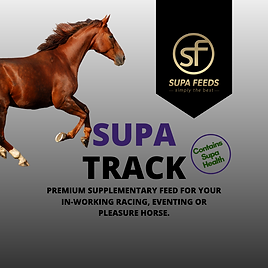 Supa Track - sport horse feed, working horse feed