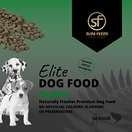Elite Dog Food Puppy, Supa Feeds Dog Food, Puppy Food, NZ made dog food