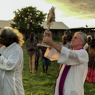 Steve blessed sacrament around Wadeye to