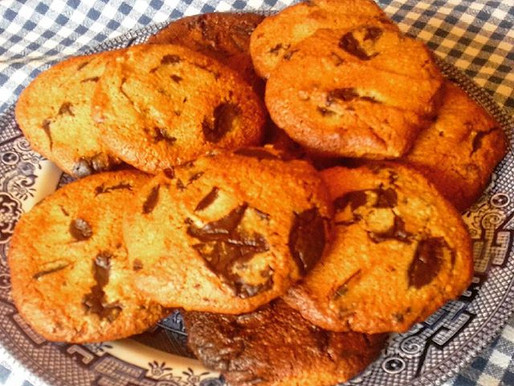 My Healthy Chocolate Chip Cookies