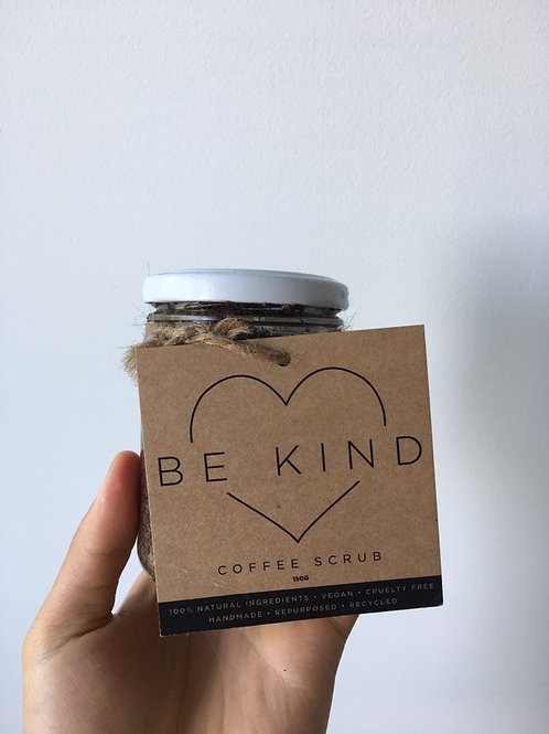 Be Kind Coffee Scrub