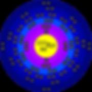 Radon-222 atom
