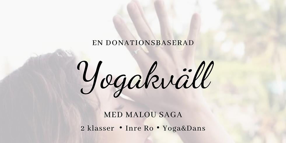 Yogakväll med Malou Saga