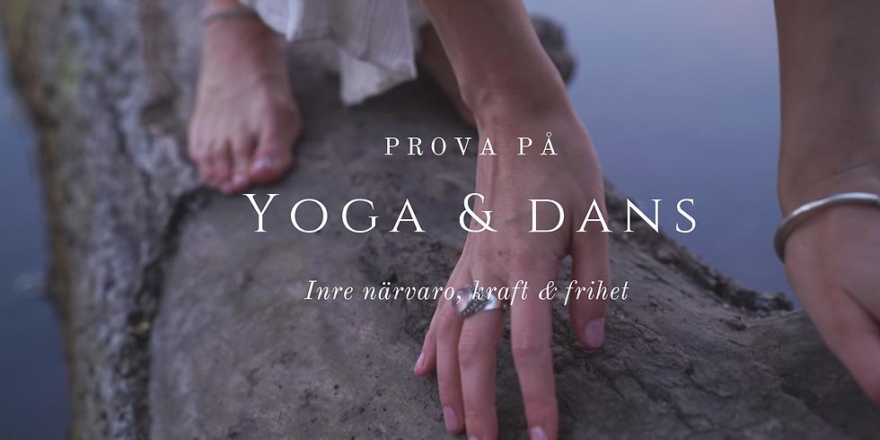 Prova-på: Yoga & Dans