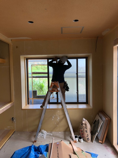 階段塗装中和室塗装中