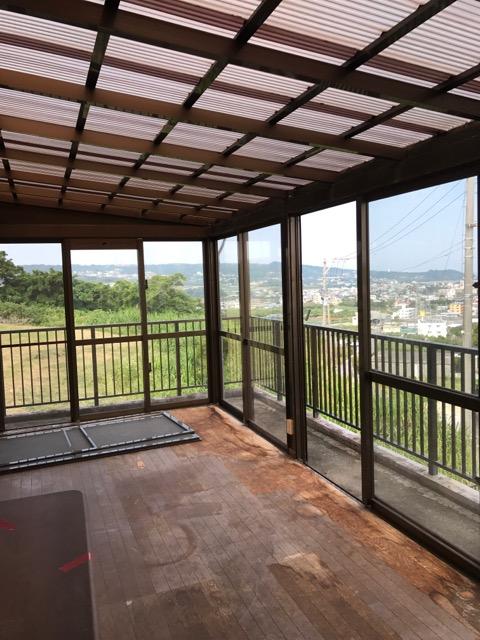 リフォーム前写真(2階バルコニーからの景色)