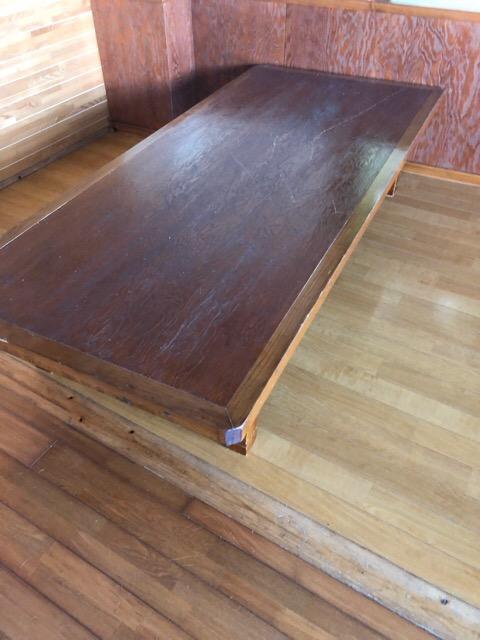 リフォーム前テーブル