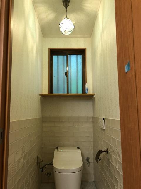 1階トイレ完成写真